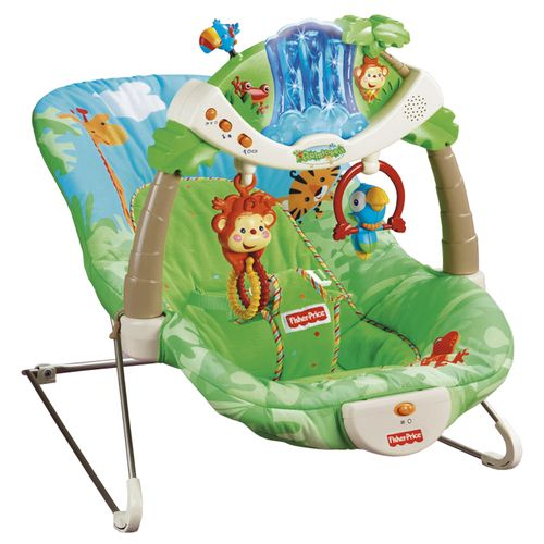Rainforest Bouncy Chair Wee Peats